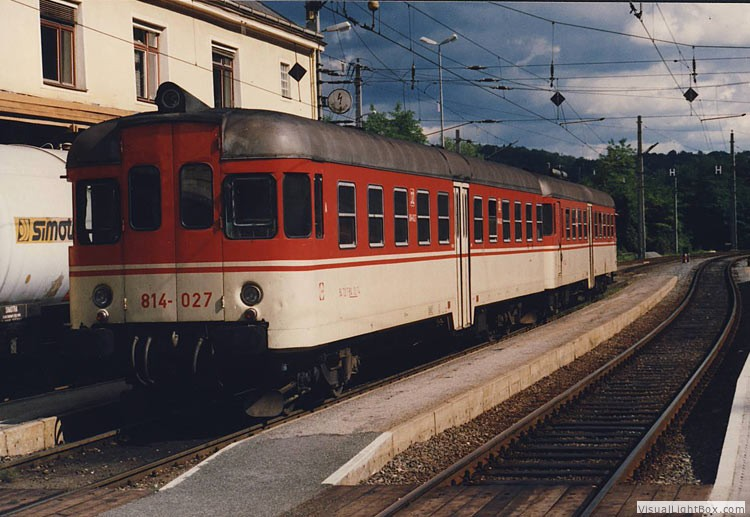 JŽ 813-027, 1990-09-08, Spielfeldstrass